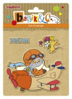 Basik's New Adventure Set of stamps (10.5*10.5cm) - Let's Fly (clr 30)