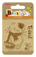 Basik's New Adventure Set of stamps (7*7cm) - Basik's Trip (clr 50)
