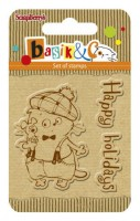 Basik's New Adventure Set of stamps (7*7cm) - Happy Holiday (clr 30)
