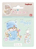 Bunny My Little Star - Set of stamps (7*7cm) - Bunny Birthday (clr 30)