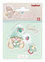 Bunny My Little Star - Set of stamps (7*7cm) - Baby Bunny (clr 30)
