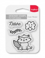 Set of stamps 7*7 cm Nature (clr 70)