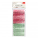 Simply Creative 6mm Pearls - 372 Pack Red / Green