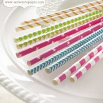 Bundle of Paper Straws – Growing Up Girl (clr 50)