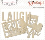 Something Wonderful Die Cut Wood (23 pieces per pack) (clr 70)