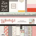 Something Wonderful Collection Pack ( 9 Sheets of Paper and 2 sticker sheets) (clr 70)