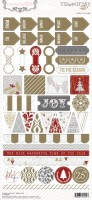 Tinsel & Company: Decorative Stickers (clr 80)