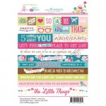 Word - Sweet Routine 4X6 Stickers (clr 50)