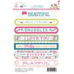Sentiment Sweet Routine 4X6 Stickers (clr 50)