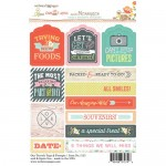 Tag & Prompt Our Travels 4X6 Stickers (clr 50)