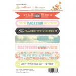 Sentiment Our Travels 4X6 Stickers (clr 50)