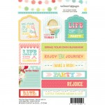 Tag & Prompt Party Time! 4X6 Stickers (clr 50)