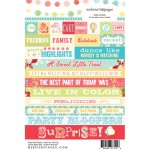 Word Party Time 4X6 Stickers (clr 50)