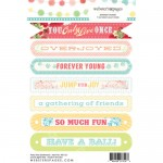 Sentiment Party Time! 4X6 Stickers (clr 50)