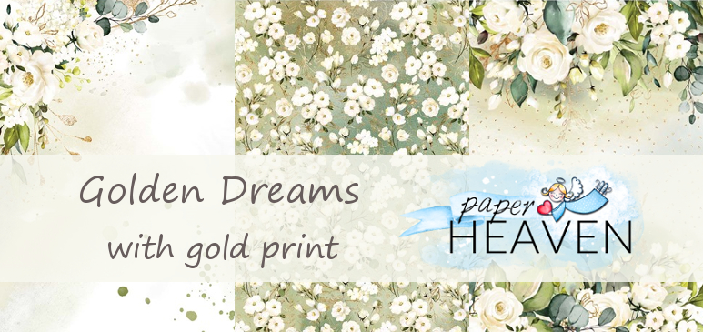 Golden Dreams with gold print