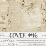 Cover 16, 60x24,2cm, laminated paper 170 gsm, matte finish (for albums max 20x20cm)